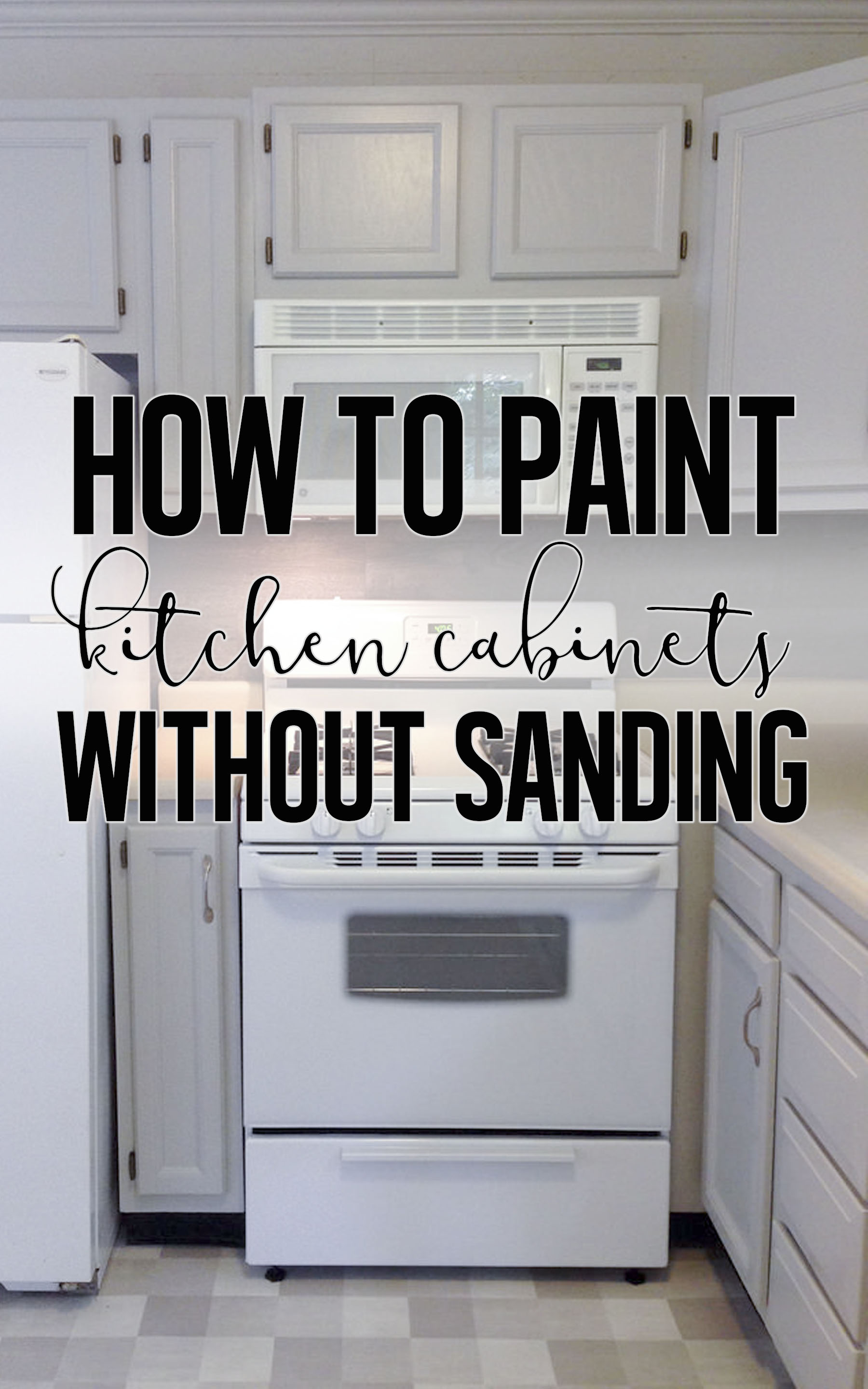 How To Paint Cabinets Without Sanding Rehab Dorks