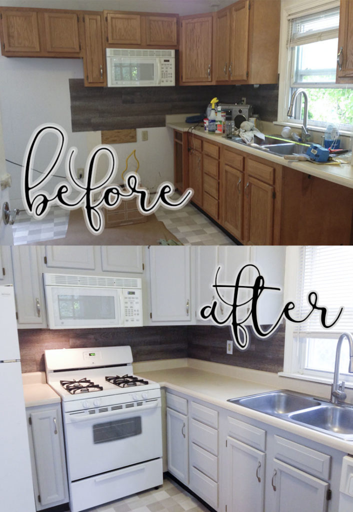 How To Paint Cabinets Without Sanding | REHAB DORKS